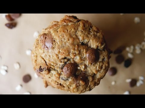 Soft & Chewy Chocolate, Peanut Butter & Raisin Oatmeal Cookies - Treat Factory