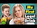 21 Year Olds Try Drinks For The First Time People Vs Food Song mp3