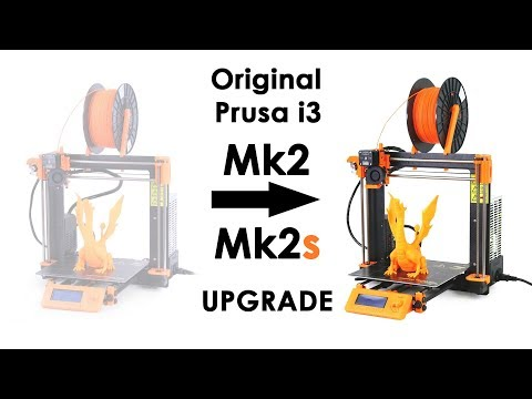 Original Prusa i3 Mk2s UPGRADE - Better late than never