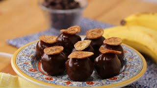 Banana Bread Cake Truffles •Tasty