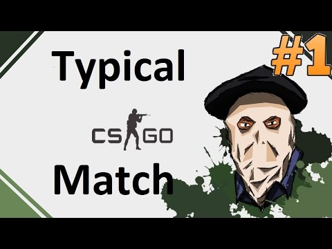 Typical CS:GO Matchmaking #1 (Silvers)
