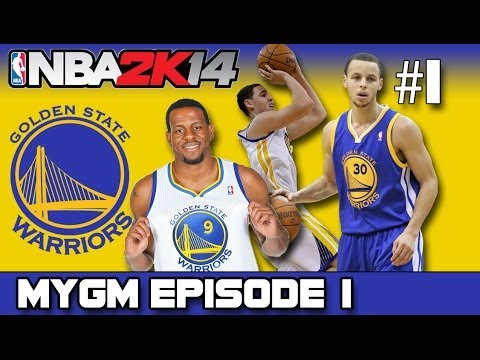 NBA 2K14 - MyGM MODE | Golden State Warriors | Introduction + Trade!