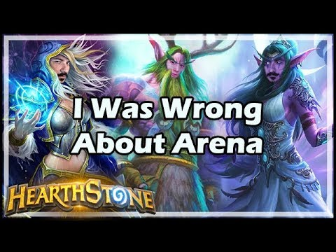 [Hearthstone] I Was Wrong About Arena