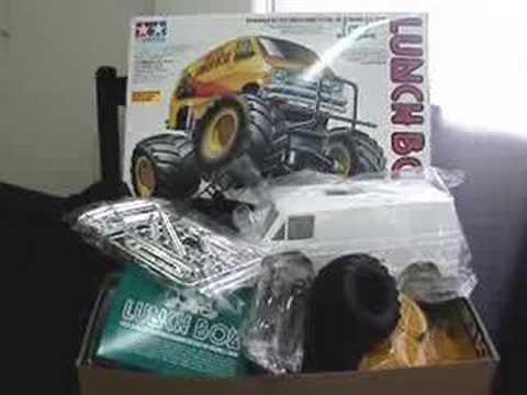 Tamiya Lunch Box RC Monster Van Build