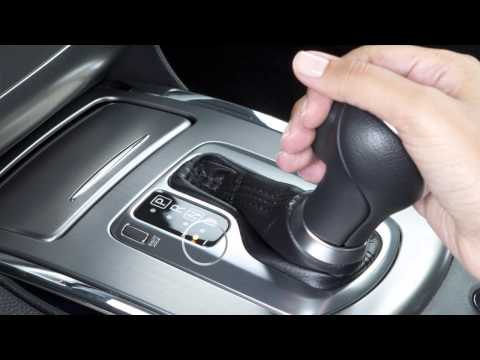 2015 Infiniti Q60 -  Manual Shift Mode (Automatic Transmission only)
