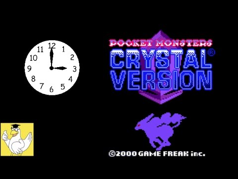 Pokemon Crystal - How to change the time tutorial