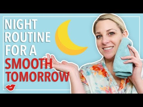 How to Create a Night Routine for a Smooth Tomorrow! | 3 Calming Tips | Kimmy from Millennial Moms
