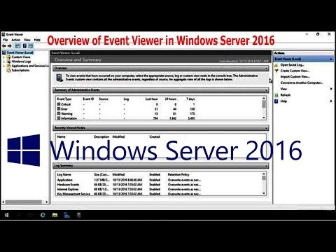 Overview of Event Viewer in Windows Server 2016 - 28