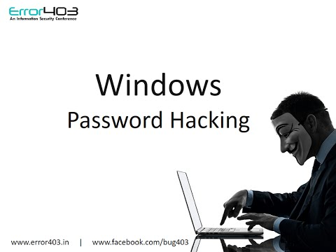 How to Hack Windows Password using command Prompt (Windows 7)