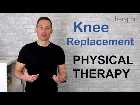 Physiotherapy After Knee Replacement Surgery