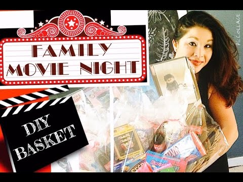 DIY MOVIE BASKET USED FOR RAFFLE OR GIFTS!!