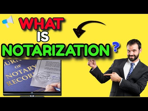 Becoming a Notary - What does a Notarization on a Document mean