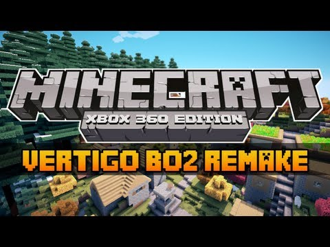 Minecraft Xbox 360 Edition- Vertigo Black Ops 2 Map Exact Remake! w/Download (HD)