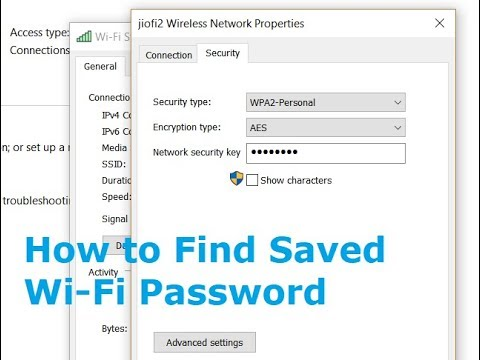 How to find Wi-Fi Hotspot Network Security Key in Windows 10