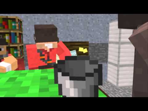 This is a bucket - TF2 Minecraft remake