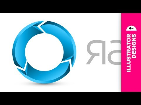 Logo design // gradients 3 (Illustrator CS5)