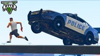 GTA V Online: PARKOUR vs POLÍCIA 🚓 - SALVEI o TIME!!!