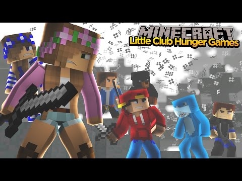 Minecraft - LITTLE KELLY & THE LITTLE CLUB FIGHT! (FaceCam)
