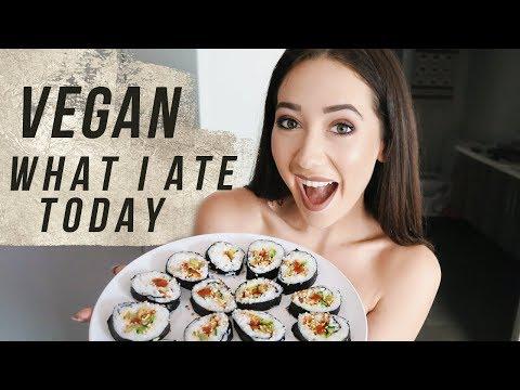 VEGAN WHAT I EAT: Buddha Bowl, Sushi + More!