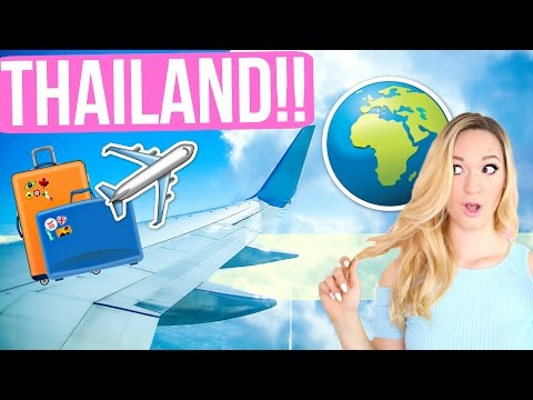 FLYING TO THAILAND!!!!