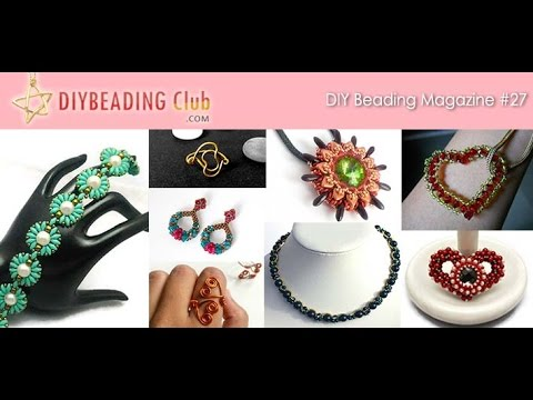 DIY Beading Magazine #27 @iPad Newsstand (Preview and Free Download)