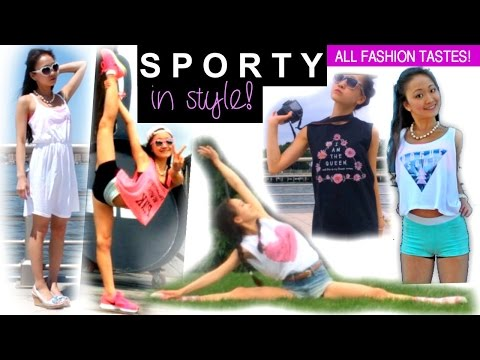 SPORTY OUTFITS + Erica Lin ACTIVEWEAR