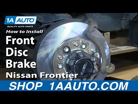 nissan xterra rear axle seal replacement