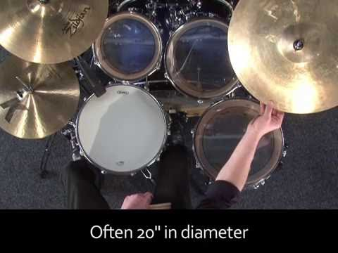 Learn Drums Lesson 01 - Introduction to the kit