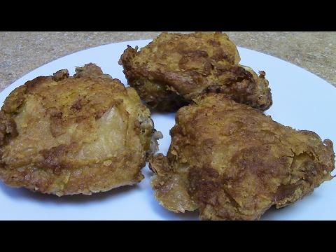 Air fryer fried chicken  (Power Air Fryer XL)