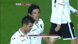 Golazo de Tino Costa (1-0) en el Valencia CF - Osasuna - HD