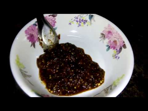How To Make Spicy Chili Sauce , Laos spicy sauce