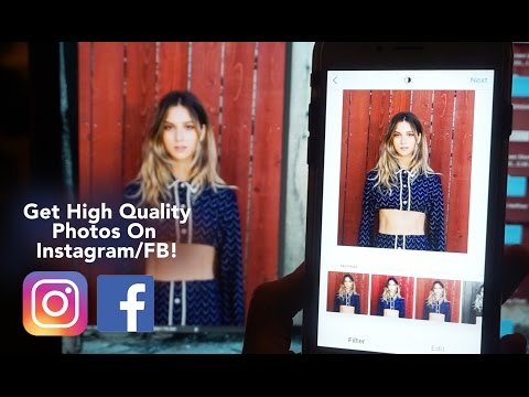 Uploading HIGH QUALITY Photos to Instagram & Facebook - Exporting LR and Photoshop