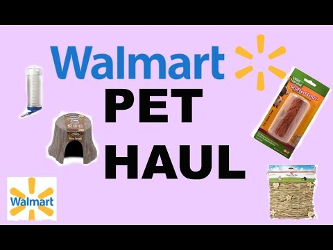 WALMART PET HAUL