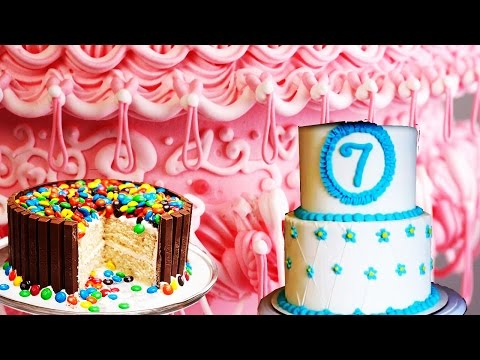 Cake Decorating - How to decorate a cake - CAKE DECORATION STEP BY STEP - FONDANT CAKE TUTORIAL ||