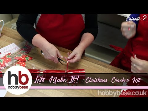 Let's Make It! Christmas Cracker Kit by Peak Dale