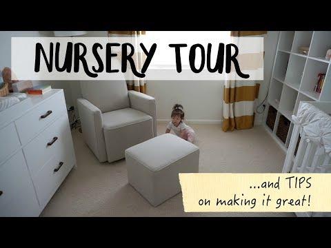Nursery Tour and tips!