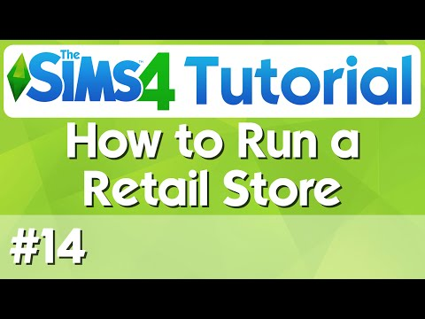 The Sims 4 Tutorial - #14 - How to Run a Retail Store