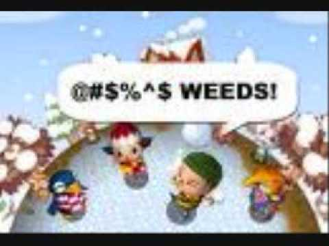 animal crossing weed picker