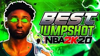 SHOOTING ALL GREENS! *NEW* SECRET BEST JUMPSHOT! SHOOT LIKE A PURE SHARP WITH ANY BUILD! NBA 2K20