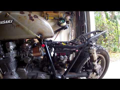 Cafe Racer - Rat Bike Build Part 3 - 1984 Kawasaki ZN700