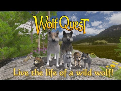 #WolfQuest - By eduweb -Compatible with iPhone, iPad, and iPod touch.