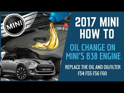 Mini Oilchange How To On B38 Engine Models: F54 F55 F56 F60