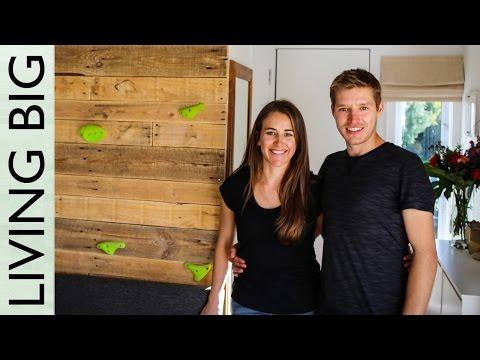 Adventurous Couple Build Brilliant Tiny House On Wheels