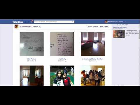 Zliq-on-Facebook: Best iPhone App to Create Facebook Album
