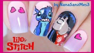 Lilo Sch Nail Art Design Nanasanzmes3 Videos