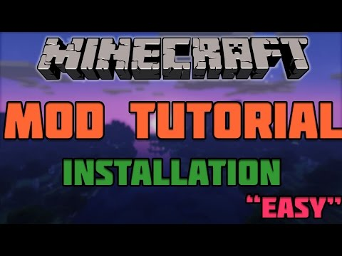 ★ Minecraft Mods Install : How to Install Minecraft Mods 1.8.4  ( Really Easy and Simple! )