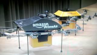 Amazon Prime Air Drone deliveries.