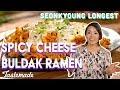 Spicy Cheese Buldak Ramen | Seonkyoung Longest