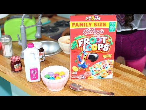 DIY American Girl Doll Cereal Boxes