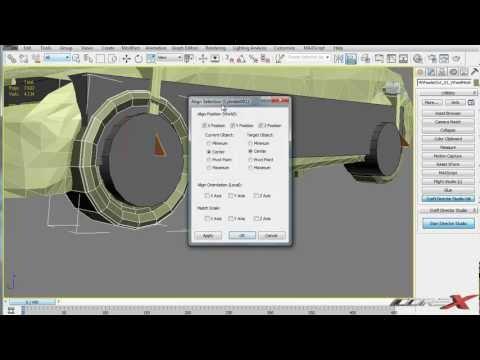 3ds Max Tutorial | Basic Car Animation